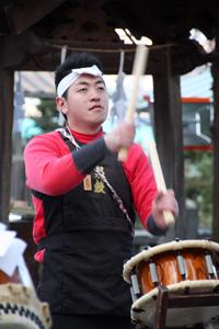 20130101上社奉納太鼓(前宮)